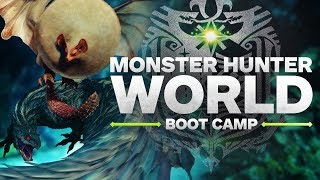 Monster Hunter World Boot Camp - Armor Crafting and Q&A