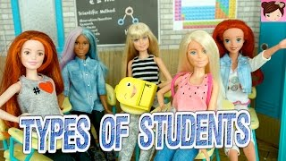 Barbie Skit feat. Royal High Kids - Types of Students in School - Doll Story Videos for Children