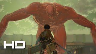 ATTACK ON TITAN (PS4) Eren VS The Colossal Titan Secret ENDING - Walkthrough Gameplay Cutscene