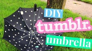 DIY's You NEED to Try!!!   DIY Tumblr Umbrella   DIY Ideas!!!