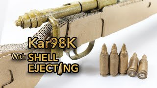 Shell Ejecting | How To Make Cardboard Gun