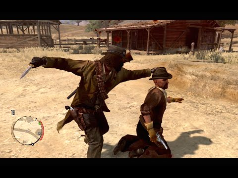 Red Dead Redemption Funny Brutal Kill Compilation Vol.10 Last Stand Knife Cliffs Funny Moments
