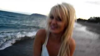 Anouska in the Irish Sea!