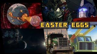 15 EASTER EGGS de Transformers The Last Knight