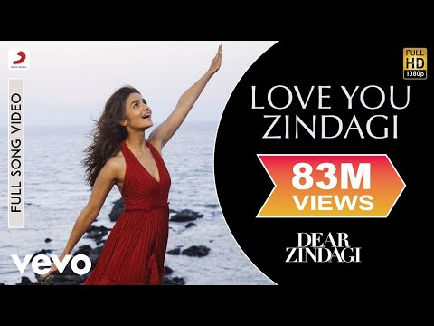 Xxx Mp4 Love You Zindagi Dear Zindagi Full Song Video Alia Shah Rukh 3gp Sex