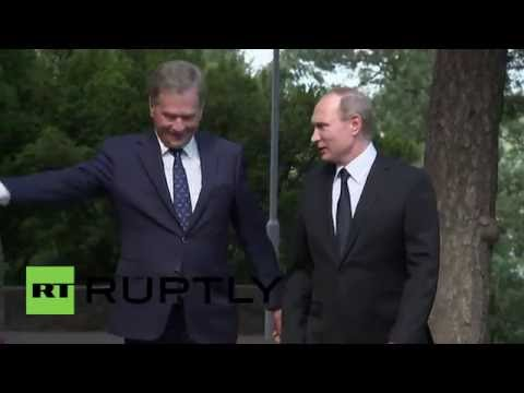 Finland: Putin talks bilateral ties with Finnish President Niinisto