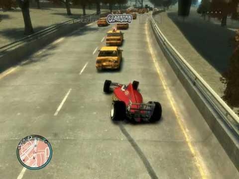 GTA IV Andando na formula1