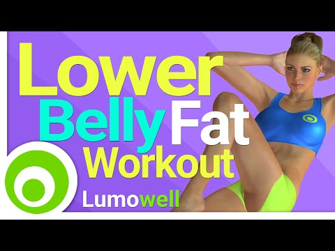 Lower Belly Fat Workout. Stomach Flattening Exercises to Lose Belly Pooch Fast