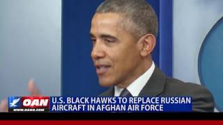 U.S. Black Hawks to Replace Russian Aircraft in Afghan Air Force