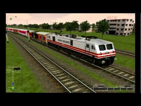 Xxx Mp4 MSTS Indian Railways Trivandrum TVC Rajdhani Express Enters NFR 3gp Sex