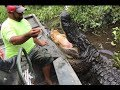 SUPER AWESOME AIRBOAT RIDE THROUGH THE SWAMPS OF LOUISIANA!