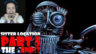 Five Nights at Freddy's: Sister Location Game Play   Night 5