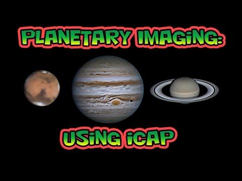 Planetary Imaging Using iCap