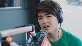 yohan hwang sings wag ka nang umiyak live on wish 1075 bus