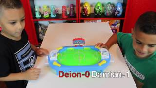TABLETOP SOCCER GAME with TMNT MYSTERY PRIZES!