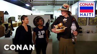 Conan Meets The Entrepreneurial Women Of D.O.T. & Prestige Beer  - CONAN on TBS