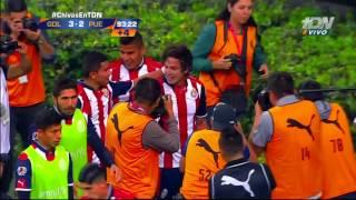 El Increíble Gol de Carlos Fierro (Le roba el balón al Portero)  Chivas vs Puebla