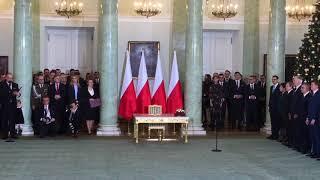Odwołanie Antoniego Macierewicza i ministrów - rekonstrukcja rządu