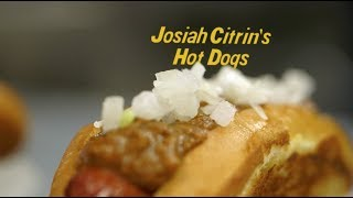 Chef Josiah Citrin's Hot Dogs at Staples Center