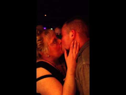 Granny kisser