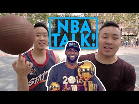 ASIAN GUYS TALK NBA The Cavs Beat The Warriors LEGENDARY