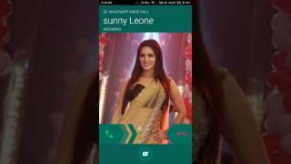 Sunny Leony call