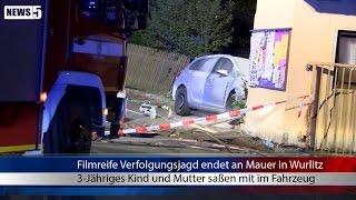 16.07.2015 (HO) Filmreife Verfolgungsjagd endet an Mauer in Wurlitz