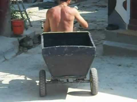 motocultor cu remorca 1