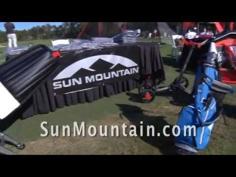 Sun Mountain Reflex Golf Cart and H2NO Bag 2015
