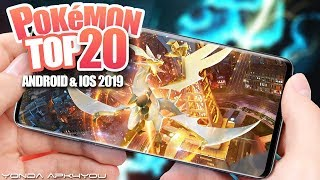 Top 20 Pokemon Games 2019 - Android IOS Gameplay