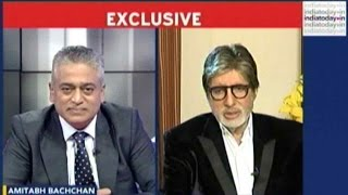 Exclusive: Amitabh Bachchan