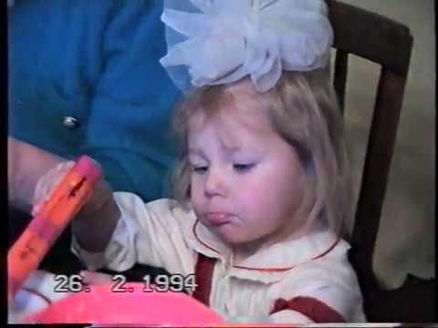 Дома  День Рождения Лены  26 02 1994