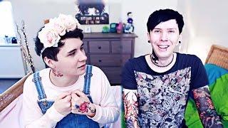 Dan and Phil PASTEL X PUNK