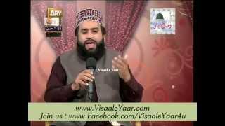 Urdu Naat( Zindagi Tere Kaf e Pa Ki Ada)Khalid Hasnain At Qtv.By Visaal
