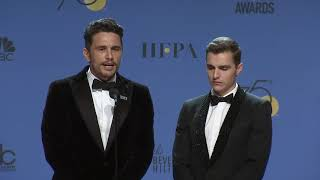 James & Dave Franco - 2018 Golden Globes - Full Backstage Interview