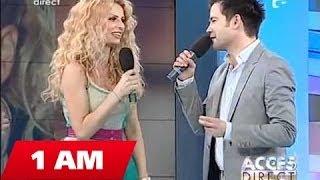 Laurentiu Duta si Andreea Banica @ Acces Direct ( Antena 1 ) part.1