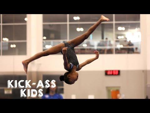 Xxx Mp4 10 Year Old Gymnast Set To Become Olympic Star KICK ASS KIDS 3gp Sex