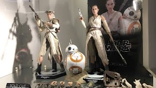 Rey and BB-8 by Hot Toys from The Force Awakens at Secret Base HK