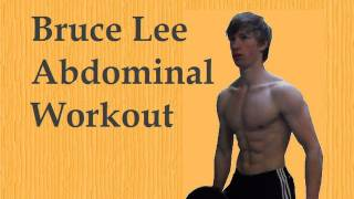 Bruce Lee Personal Abdominal Workout: Remake in HD!