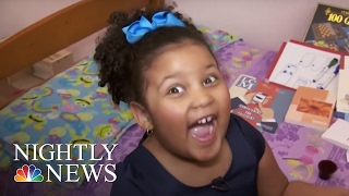 Inspiring America: Meet The 4-Year-Old Who's Read More Than 1,000 Books | NBC Nightly News