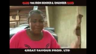 INI EDO,THE IRON BENDER. Watch,laugh and learn