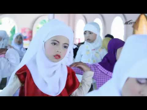 Tarian Muhammad Nabiku TKIT Raudhatul Azhar Masbagik lombok timur NTB.