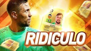 O GOL MAIS RIDÍCULO DA HISTÓRIA !!!!! - FIFA 17 ULTIMATE TEAM (SP)- EP 26