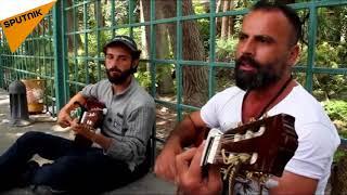 موسيقى الشارع تجد طريقها لدمشق...شباب يبلسمون أوجاع الحرب بأوتارهم