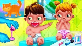 Fun Care Kids Game - Baby Twins Babysitter - Play Dress Up, Care & Bath Time Games For Kids