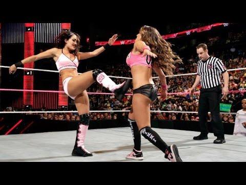 Xxx Mp4 WWE RAW 10 13 14 Brie Bella Natalya Naomi Vs Cameron Nikki Bella Summer Rae 720p 3gp Sex