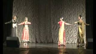 Teental by kathak group Chakkar Moscow