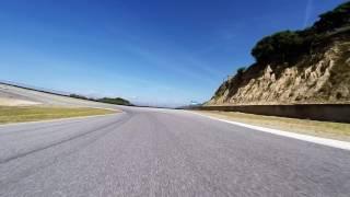 2016 Porsche GT4 at Laguna Seca