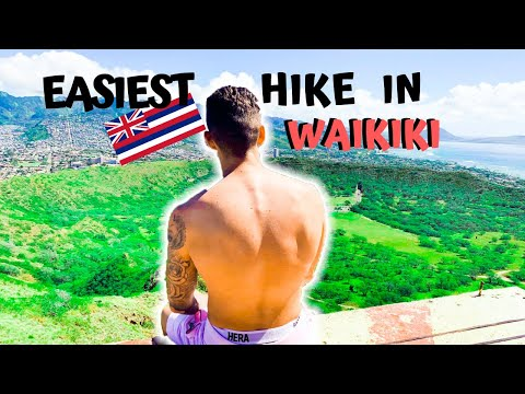 The easiest hike in Waikiki Diamond Head is a must do