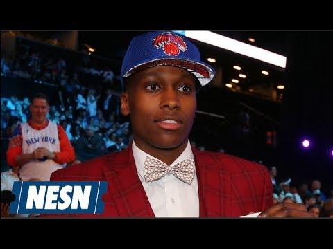Xxx Mp4 Frank Ntilikina Knicks Full NBA Draft Press Conference 3gp Sex